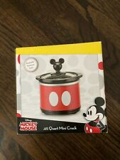 Disney Mickey Mouse .65 Quart Mini Crock Slow Cooker Removable Stoneware Insert