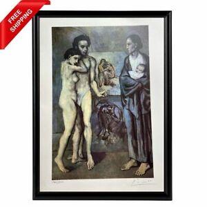 Pablo Picasso - Self-Portrait, Original Hand Signed Print with COA
