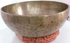 16 Inches Healing Meditation Tibetan Singing Bowl, Hand Hammered Singing Bowls