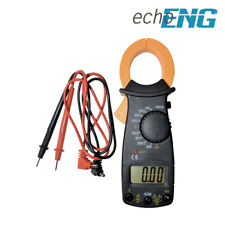 Pinza amperometrica tester digitale multimetro portatile test puntali SM 52 CM46