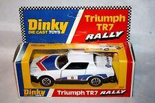 Dinky 207 Triumph TR7 RALLYE VOITURE, Comme neuf en excellent boîte d'origine