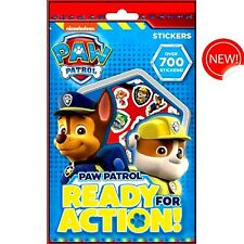 Paw Patrol Over 700 Stickers - Party Bag - Gift - WH3 - R3C-667 - NEW