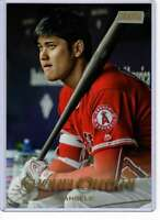 Shohei Ohtani 2019 Topps Stadium Club 5x7 Gold #66 /10 Angels