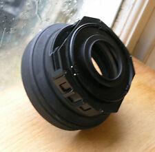 Hoyarex 921  tele wide rubber lens hood , filter holder 49mm & 49 40.5 step up