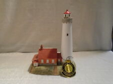 1999 Lefton Historic American Lighthouse Tawas Point Michigan 12716
