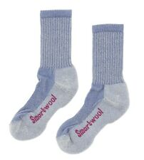 Smartwool Women's Hiking Light Crew Sock in Blue Steel 1721 Size M