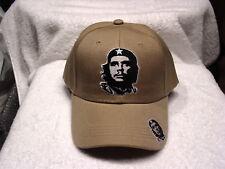 CHE GUEVARA REVOLUTION BASEBALL CAP HAT ( BEIGE )