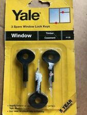 YALE Window spare lock keys (3) P130  NEW