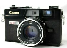 Canon Canonet QL17 G-III Film Camera w/1:1.7 Lens *Working* #Mi016