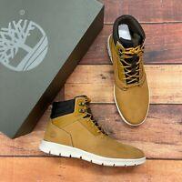 Timberland Men's Graydon Wheat Leather Sneaker Boot A1OEA