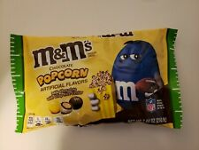 New M&M's Chocolate Popcorn 7.44 oz Bag