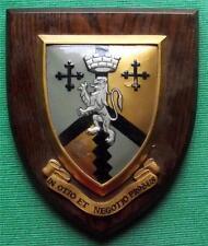 c1960 In Otio et Negotio Probus  University College School Crest Shield Plaque