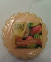 YANKEE CANDLE TART RARE AND AWESOME TROPICAL MANGO HOME CLASSICS