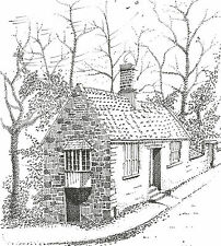 Limited Edition Art Print 'COTTAGE DURHAM' Artist signed & numbered picture