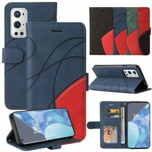 For OnePlus 9 Pro Nord N100 5G Case Leather Wallet Book Flip Stand Phone Cover