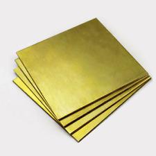 0508112152253 Mm Thick Brass Plate Metal Cut Sheet Various Sizes