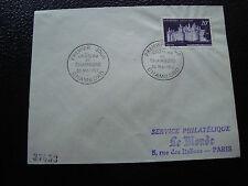 FRANCE - enveloppe 1er jour 30/5/1952 (chateau de chambord) (cy50) french