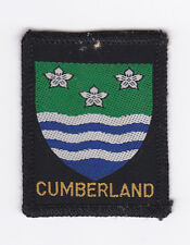 SCOUTS OF BRITISH / UNITED KINGDOM - UK SCOUT CUMBERLAND COUNTY BADGE EXT++ RARE