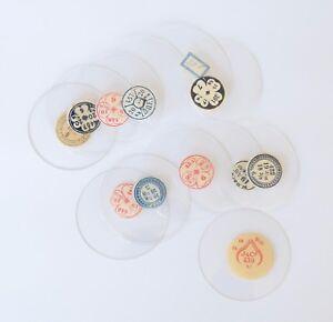 TASCHENUHRGLAS SAVONETTE Uhrglas D 395-422 Glas f. Taschenuhr pocket watch glass