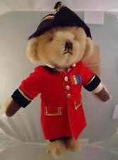 RARE Merrythought Bear Harrods England Exclusive Celse Pensioner British Army