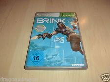 Brink (Microsoft XBOX 360) Classics Version