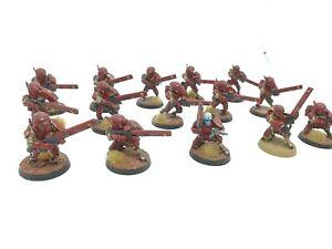 Warhammer 40k Tau Empire Tau Fire Warriors Strike Team x15 C59