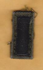 US ARMY 1st Lieutenant Collar Insignia, subdued cloth, Vietnam War.