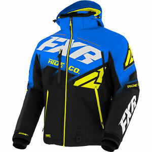 FXR Snow Jacket Boost Fx Jacket Black/Blue/Hi Vis