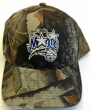 NBA Orlando Magic Reebok Camo Adjustable Back Closure Cap Hat NEW!
