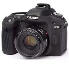 easyCover Canon EOS 80D, ECC80DB Black Protective Skin Camera Silicon Cover NWB