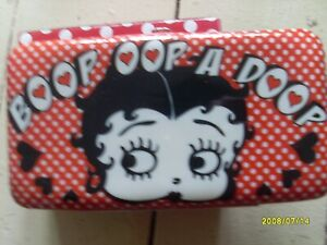 New Betty Boop coated padded wallet purse