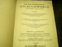 1929 NEW INTERNATIONAL ATLAS OF THE WORLD