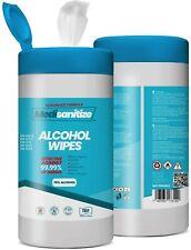 More details for antibacterial sanitiser 70% alcohol 150 big wipes easy dispense tub disinfectant