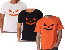 Monster cara Halloween Pumpkin calabaza sprücheshirt funshirt señores Shirt