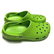 Crocs Classic Clog Comfortable Slip On Volt Green Mens Size 10 W 12 Parrot Green