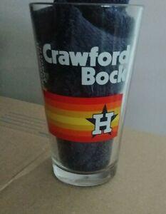 "Houston Astros ""Crawford Bock"" - 16oz. Karbach Pint Beer Glass - MLB"