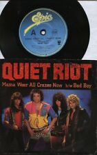 "QUIET RIOT  Rare 1984 Oz Only 7"" OOP Metal P/C Single ""Mama Weer All Crazee Now"""