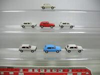 AF125-0,5# 7x Wiking H0 PKW/Modell Volkswagen VW Golf, NEUW
