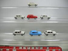 af125-0, 5 #7x Wiking H0 Car / MODEL VOLKSWAGEN VW Golf, MINT