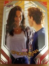 2017 UD Spider-Man Homecoming #72 Asked to the Dance SILVER FOIL