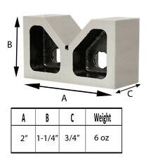 High Quality Cast Iron V Block Set V Block Ground Pair 2 X 34 X 1 14