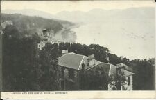 Vintage postcard: Ardbeg & Cowan Hills, Rothesay, Bute - posted in New Zealand