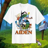 Bugs Bunny Friends Looney Tunes Custom T-shirt Personalize Birthday, Tweety, Taz