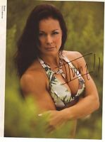 WWE WWF IVORY SEXY AUTOGRAPHED HAND SIGNED 8X10 PHOTO WRESTLING PICTURE