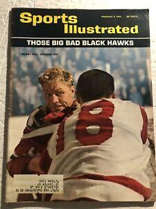 1964 Sports Illustrated CHICAGO BLACKHAWKS Bobby HULL Those Big Bad BLACKHAWKS