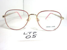 Vtg 80s ZIMCO Eyeglass Frame Stacey RGP Pink Round Womens (LTP-05)
