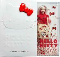 Barbie Signature Poupée Hello Kitty Edition Collector Noël 2019 Box Mattel DWF58