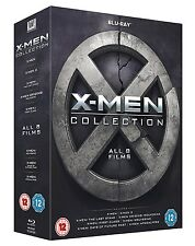 X MEN 8 FILM COLLECTION BLU RAY BOXSET BRAND NEW AND SEALED! 8 DISCS