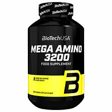 BIOTECH USA MEGA AMINO ACIDS 100 Tablets - BCAA Anabolic Whey Protein Supplement