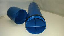 Elektrodenköcher Ø85mm, L370mm wasserdicht verschließbar, tragbar, mit 4 Kammern
